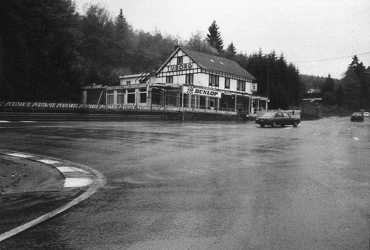 Spa francorchamps belgium photographs of circuit for Auberge le jardin de la source